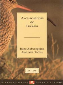 Libro aves Acuáticas de Bizkaia